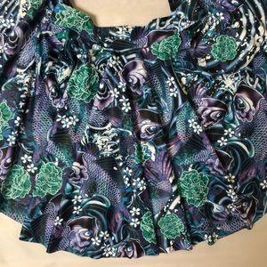 Limited Edition Koi BlackMilk cheerleader Skirt